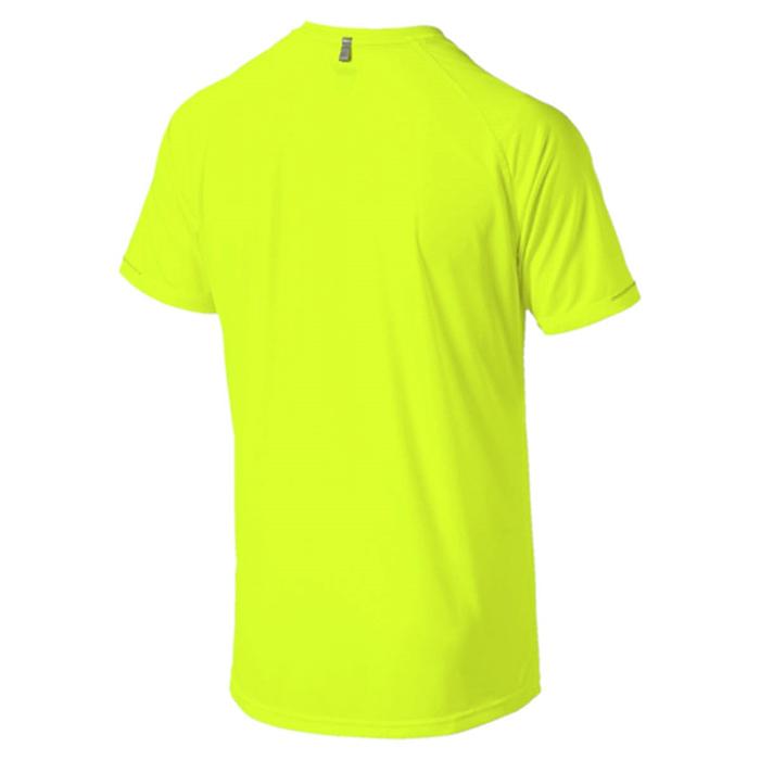Футболка для бега мужская Puma Core-Run S/S Tee, цвет:  желтый.  515008_07.  Размер L (48/50) Puma