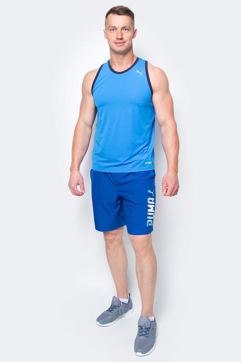 Шорты мужские Puma Rebel Woven Shorts, цвет: синий. 590614_10. Размер L (48/50) шорты спортивные мужские puma velize shorts woven innerslip цвет белый 701895131 размер xxl 52 54