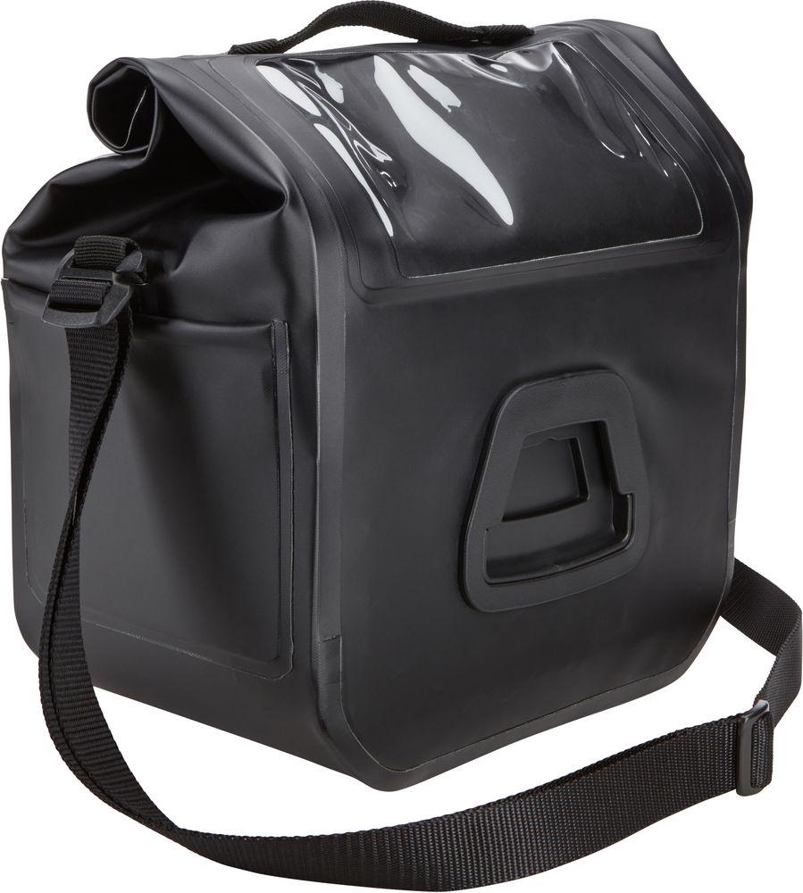 Велосумка на руль Thule Shield, цвет: черный чемоданы thule дорожная сумка на колесах thule crossover