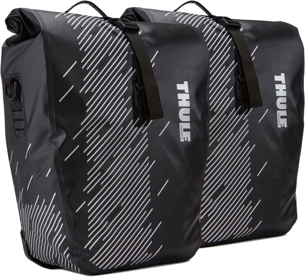 Набор велосипедных сумок Thule Shield Large, черный