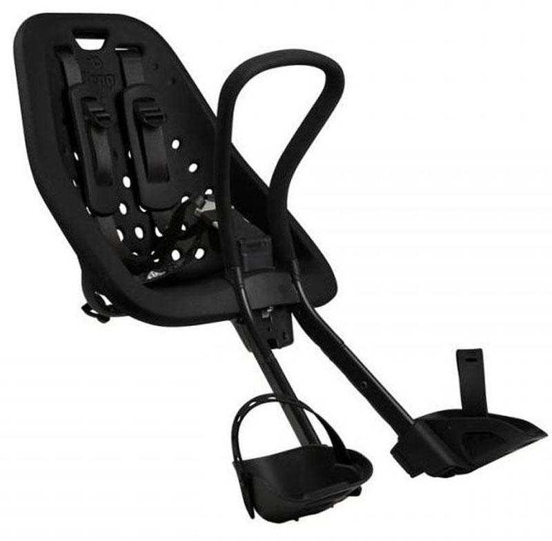Детское велокресло Thule Yepp Mini, цвет: черный12020101Детское велосипедное кресло Thule Yepp Mini для установки на раму велосипеда. Легкое и стильное детское велосипедное сиденье с креплением сзади и продуманным дизайном для прогулок по городу. Максимальный комфорт и безопасность благодаря регулируемому 5-точечному ремню безопасности с подкладкой .Сиденье, смягчающее толчки и вибрацию, обеспечивает плавную езду. Легкое, но прочное и невероятно удобное детское сиденье с жесткой основой и мягкой подбивкой. Фиксировать ребенка с помощью защитной пряжки на магните, оснащенной защитой от детей, очень быстро, легко и удобно Адаптируется к параметрам ребенка по мере его роста и обеспечивает идеальную посадку благодаря регулируемым опорам для ног и фиксирующим ремням. Во время езды ребенок может держаться за удобную ручку. Универсальная быстросъемная опора, которая подходит для обычных и выносных кронштейнов, позволяет устанавливать сиденье на велосипед и снимать с него за считанные секунды. Благодаря водоотталкивающим материалам сиденье всегда остается сухим и легко чистится.Разработано и протестировано для детей от 9 месяцев* до 3 лет, весом до 15 кг. (*Обратитесь к педиатру, если ребенку менее 1 года).