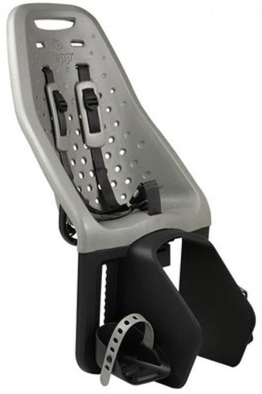 Детское велокресло Thule Yepp Maxi Easy Fit, цвет: серый12020215Детское велосипедное кресло, вес всего 1.9 кг, устанавливается на переднюю часть велосипеда. Легкое, мягкое и прочное, оно обеспечит Вашему ребёнку высокий комфорт и отличный обзор.