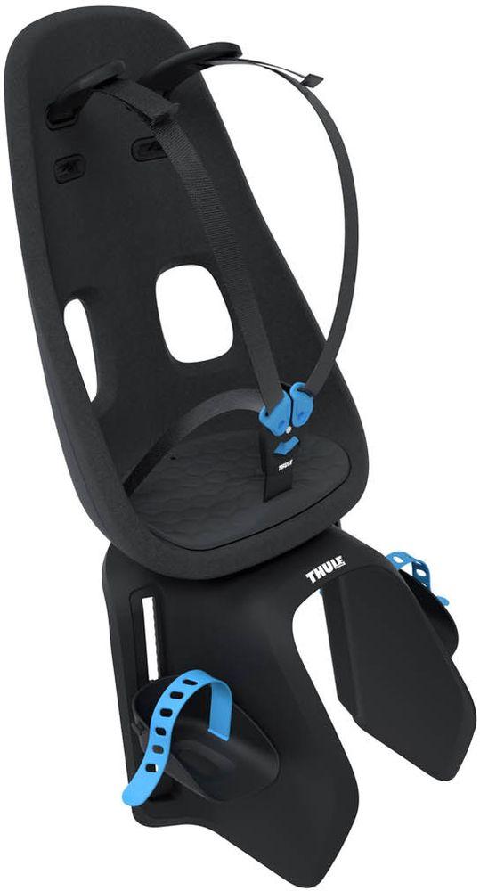 Детское велокресло Thule Yepp Nexxt Maxi Universal Mount, цвет: черный12080201Легкое и безопасное детское велосипедное сиденье Thule Yepp Nexxt Maxi Universal Mount, устанавливаемое сзади. Современный дизайн и непревзойденный комфорт для вашего ребенка. Максимальный комфорт и безопасность благодаря регулируемому 5-точечному ремню безопасности с подкладкой .Сиденье, смягчающее толчки и вибрацию, обеспечивает плавную езду. Легкое, но прочное и невероятно удобное детское сиденье с жесткой основой и мягкой подбивкой .Фиксировать ребенка с помощью защитной пряжки на магните, оснащенной защитой от детей, очень быстро, легко и удобно .Адаптируется к параметрам ребенка по мере его роста и обеспечивает идеальную посадку благодаря регулируемым опорам для ног и фиксирующим ремням .Детское велосипедное сиденье быстро и легко устанавливается на заднем багажнике велосипеда .Дополнительная видимость на расстоянии благодаря встроенному рефлектору, который можно заменить задним фонарем (продается отдельно) .Благодаря водоотталкивающим материалам сиденье всегда остается сухим и легко чистится . Разработано и протестировано для детей от 9 месяцев* до 6 лет, весом до 22 кг. (*Обратитесь к педиатру, если ребенку менее 1 года).