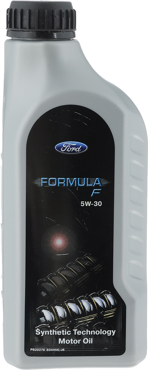 Моторное масло FORD Formula F/Fuel Economy HC, класс вязкости 5W30, 1 л14E9ED/155D4B/1515DAМоторное масло FORD Formula F/Fuel Economy HC SAE 5W-30 обеспечивает: прекрасные смазочные свойства при «холодном» старте для всех компонентов двигателя при низких температурах, обеспечивая низкий износ, и продлевает срок службы двигателя; высокую защиту от износа при экстремальных условиях эксплуатации; высокую термическую стабильность и защиту от окисления, предотвращая старение масла. Продукт снижает расход масла и имеет очень хорошие очищающие свойства, защищающие от образования отложений и образования нагара.