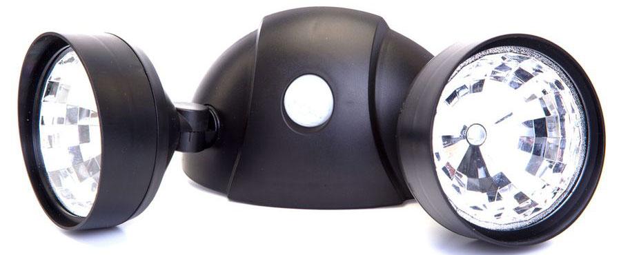 Светильник  Bradex , с 2 спотами и датчиком движения -  Светильники