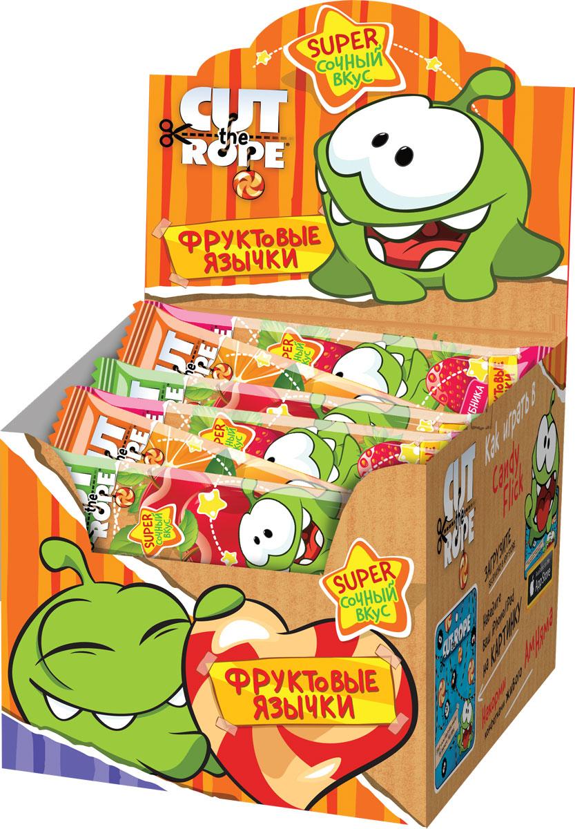 Сut the Rop фруктовая жевательная конфета, 100 шт по 10 гУТ16255Жевательные конфеты упакованы в фольгированный пищевой флоупак.