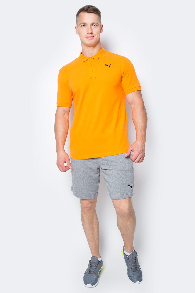 Поло мужское Puma Ess Pique Polo, цвет: оранжевый. 83824842. Размер L (48/50)83824842Стильная мужская рубашка-поло ESS Pique Polo выполнена из хлопка с добавлением эластана. Высокофункциональная технология dryCELL отводит влагу, поддерживает тело сухим и гарантирует максимальный комфорт. Модель декорирована вышитым логотипом PUMA. Среди других отличительных особенностей изделия - отложной воротник и манжеты рукавов из эластичного трикотажа в рубчик и отделка тесьмой с фирменной символикой с внутренней стороны ворота. Классический крой понравится ценителям простого и лаконичного стиля, а воротник добавит элегантности модели. Отличный вариант для повседневного образа.