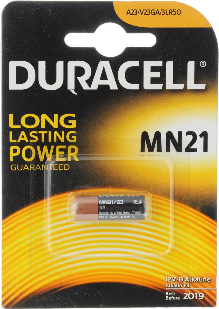 Батарейка алкалиновая для сигнализаций Duracell, тип MN21, 1шт батарейка алкалиновая для сигнализаций duracell тип mn21 1шт
