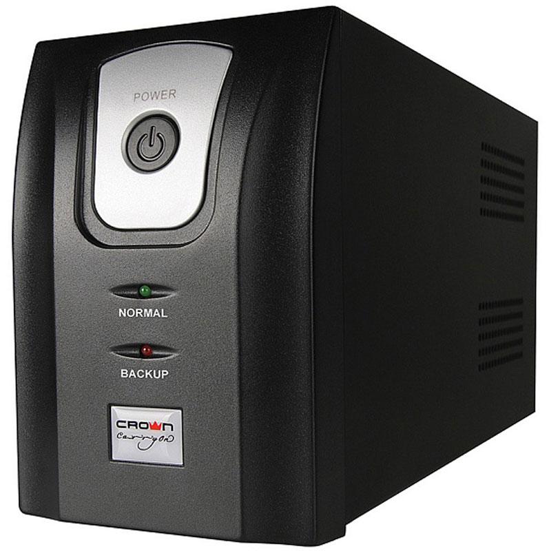 Crown CMU-750X IEC ИБПCM000001734Источник бесперебойного питания Crown CMU-750X IEC позволяет обеспечить надежное резервное электропитание для персональных компьютеров, сетевого, коммуникационного оборудования и других электронных устройств от перепадов, скачков, провалов напряжения и полного исчезновения напряжения в электросети. Микропроцессорное управлениеLED и звуковая индикация состоянияAVR стабилизаторЗапуск ИБП при отсутствии напряжения в сетиХолодный старт ИБПФорма напряжения: ступенчатая аппроксимация синусоидыВремя переключения: 2-4 мс, включая время определения