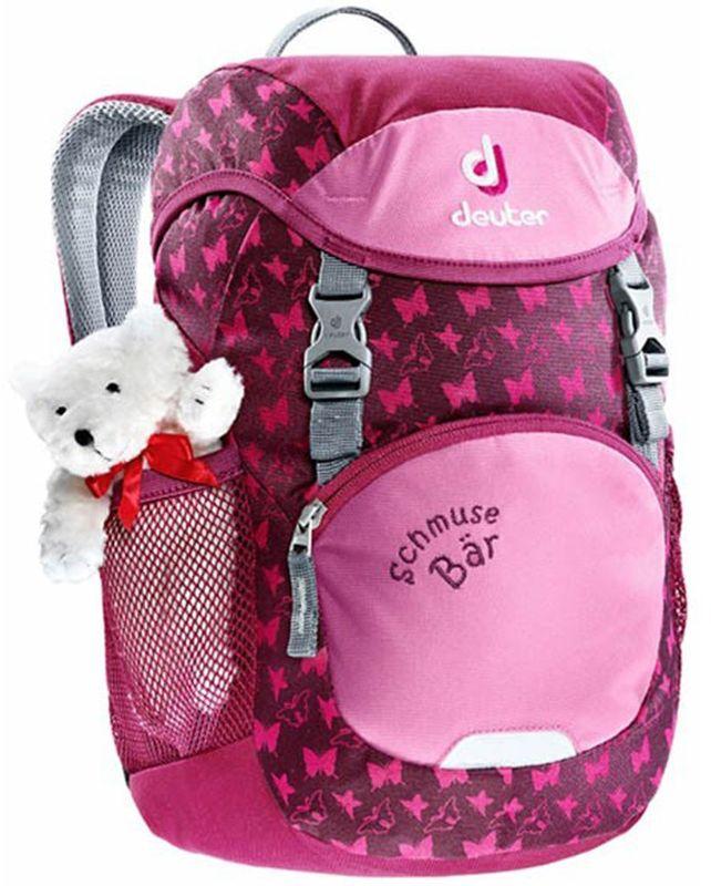 купить Deuter Рюкзак дошкольный Schmusebar цвет пурпурный недорого