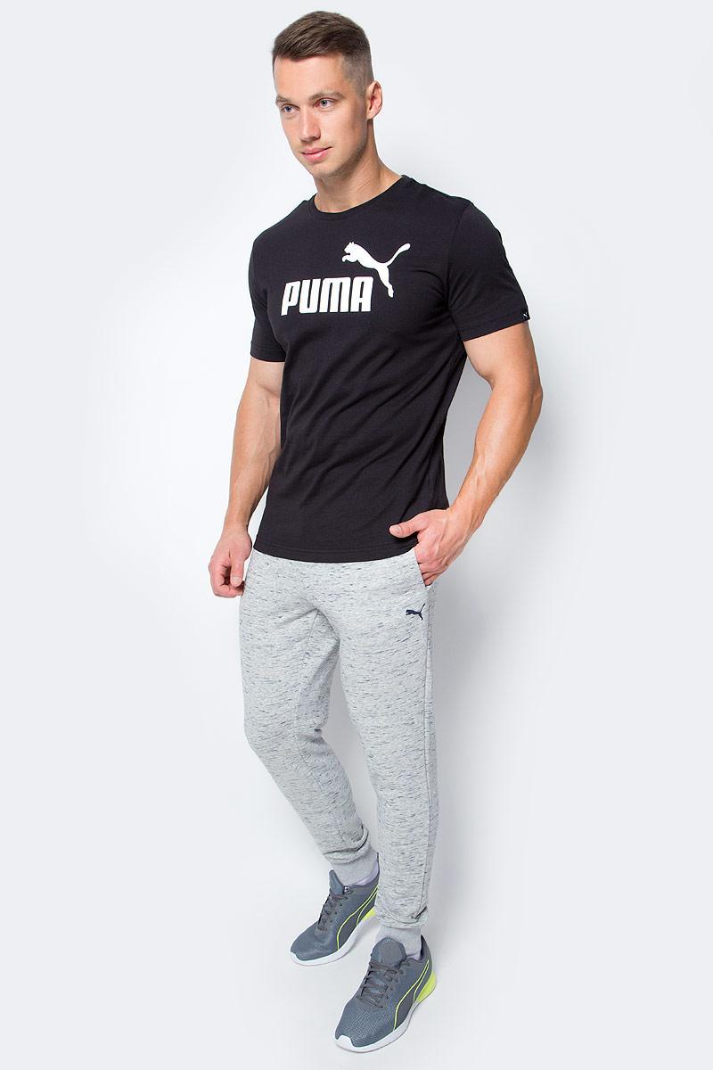 Брюки спортивные мужские Puma RBR Sweat Pants, цвет: серый. 572748_02. Размер L (48/50)572748_02Стильные брюки RED BULL RACING Sweat Pants подойдут для тренировок и активного отдыха. Пояс брюк выполнен из эластичного материала. Широкие манжеты по низу брюк обеспечивают хорошее прилегание к ноге. В боковых карманах можно хранить необходимые мелочи. Изделие декорировано тканым ярлыком с эмблемой RBR и логотипом PUMA, нанесенным методом печати высокой плотности.