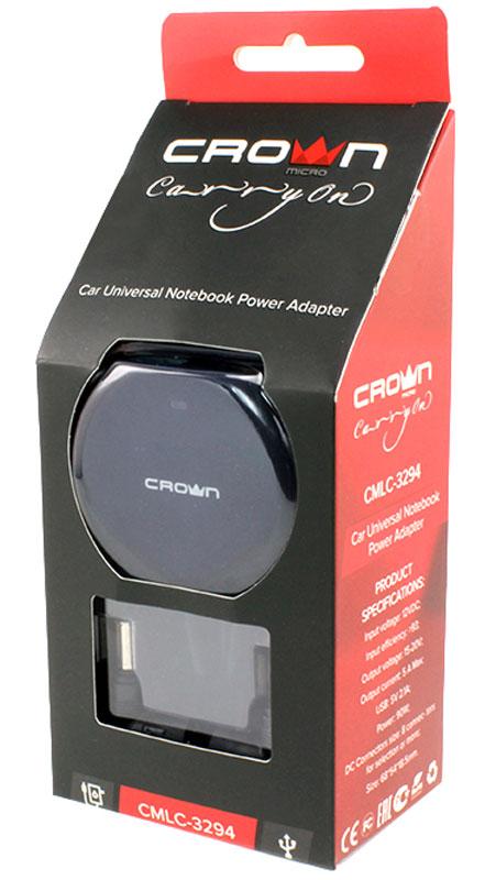 Crown Micro CMLC-3294автомобильный адаптер питания для ноутбуков (90 Вт) Crown Micro