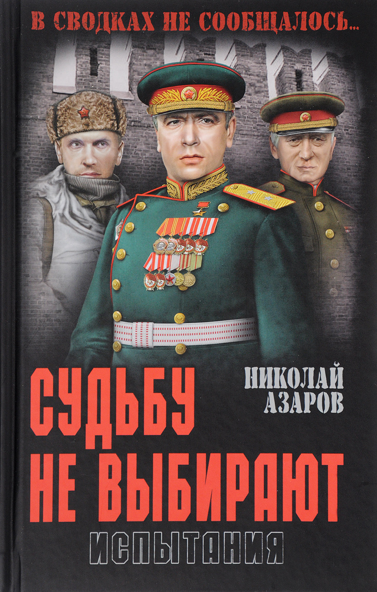 Николай Азаров Судьбу не выбирают. Испытания. Книга 2 азаров н я украина на перепутье записки премьер министра