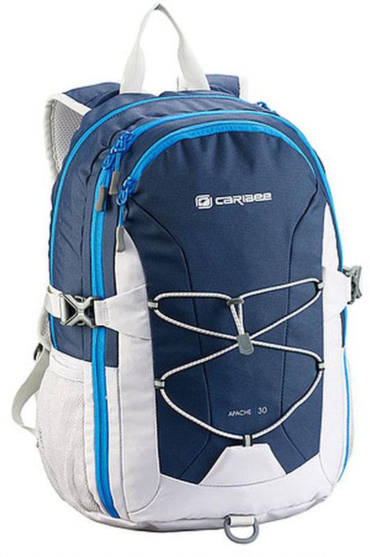 Caribee Рюкзак Apache цвет морской волны60502Рюкзак Caribee Apache - удобный городской рюкзак.Спинка рюкзака имеет удобное строение и мягкую обивку. Лямки S-образной формы можно адаптировать под рост за счет подвесной системы. Благодаря стяжкам объем рюкзака можно регулировать.Рюкзак имеет несколько вместительных отделений, основное отделение формата А4. Фронтальная QR система резинок поможет разместить верхнюю одежду. Нагрудный ремень необходим для распределения нагрузки. Передний большой карман на молнии имеет органайзер для ключей и телефона.Материал, который применяется при изготовлении рюкзака, устойчив к перепадам температуры и света, ультрафиолета и влаги.