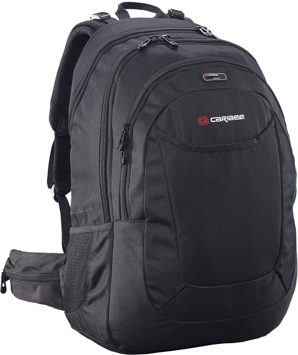 Caribee Рюкзак College 40 X-tend цвет черный рюкзак caribee trek цвет черный 32 л