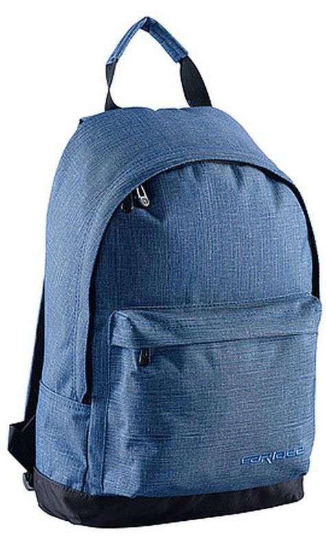 Caribee Рюкзак Campus цвет синий64701Рюкзак Caribee Campus - стильный городской рюкзак, который вмещает все необходимое в течение дня. Рюкзак имеет просторное внутреннее отделение, которое подходит для документов формата А4. На передней панели рюкзака находится вместительный карман на молнии.Рюкзак изготовлен из прочной невыцветающей ткани, легко поддающейся чистке.