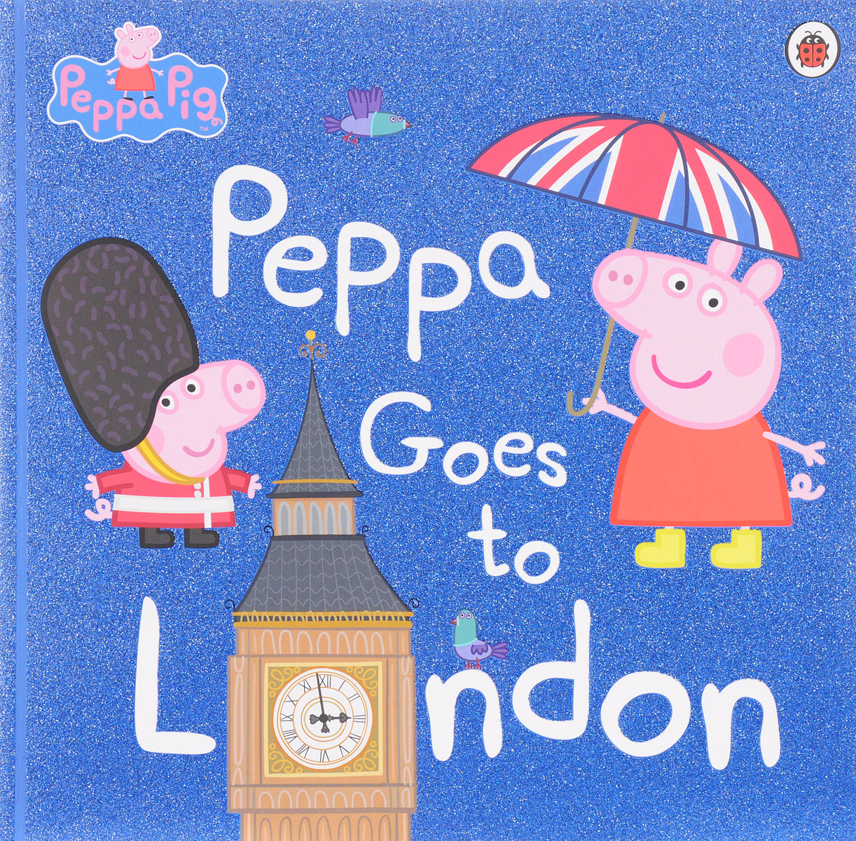 Peppa Goes To London peppa goes to the library