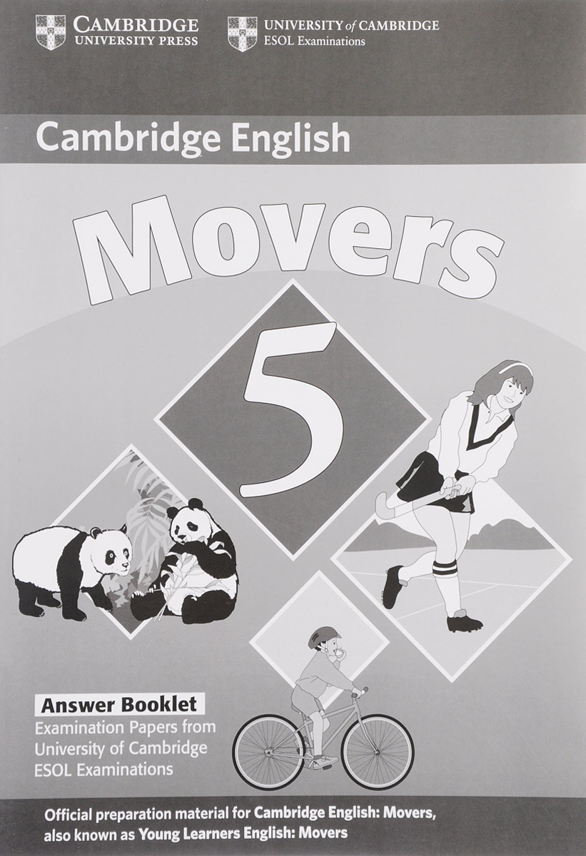 Cambridge English Movers 5: Answer Booklet cambridge movers 1 answer booklet