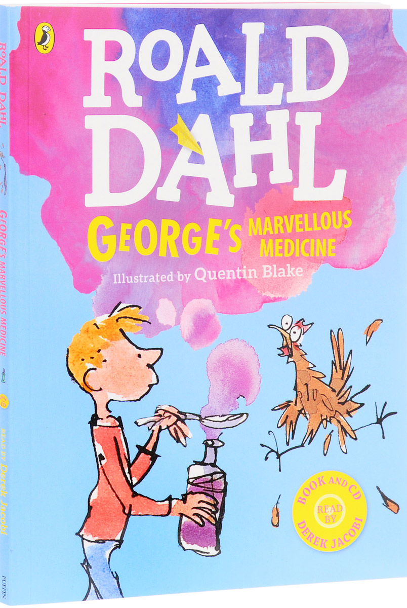 George's Marvellous Medicine (+ 2 CD) chris wormell george and the dragon