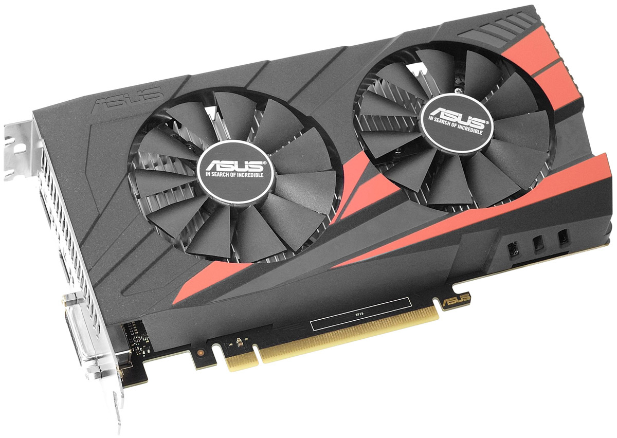ASUS Expedition GeForce GTX 1050 2GB видеокарта (EX-GTX1050-2G)