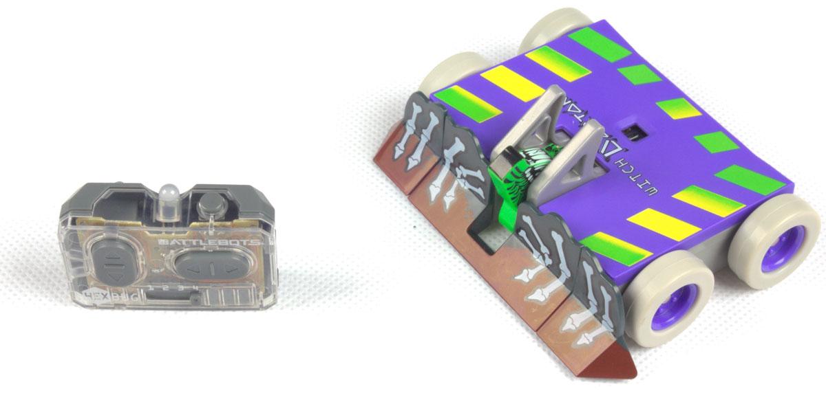Hexbug Микро-робот на радиоуправлении BattleBot Witch Doctor - Интерактивные игрушки