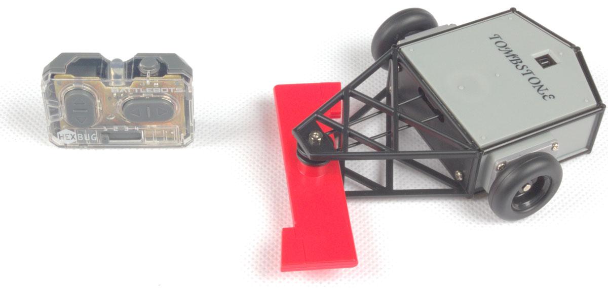 Hexbug Микро-робот на радиоуправлении BattleBot Tombstone рыба на пульте управления