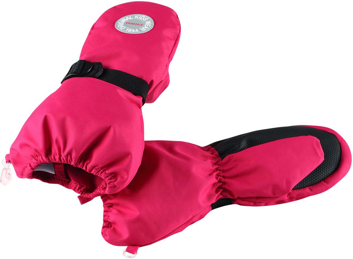 Варежки для девочек Reima Olhava, цвет: розовый. 5272813560. Размер 25272813560