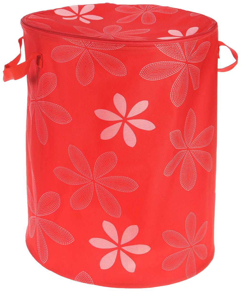 NEW COMMODITY Корзина для игрушек цвет красныйR3202Ящик для хранения NEW COMMODITY поможет вам навести порядок в детской.Размер изделия позволяет хранить в нем игрушки, книжки или белье. Ящик легко складывается, когда в его использовании нет необходимости, тем самым сохраняя простор вашего дома.Это идеальный подарок для детей.