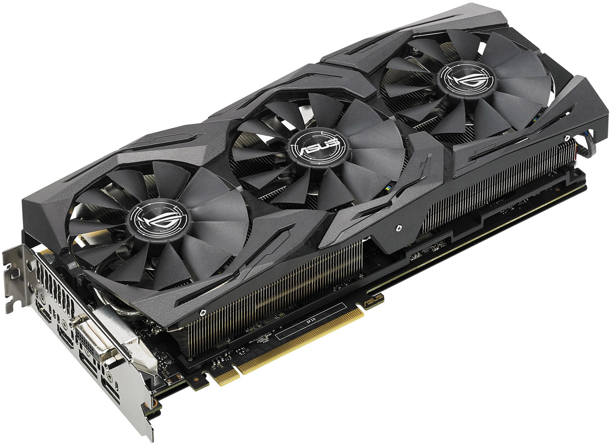 ASUS ROG Strix GeForce GTX 1080 Ti OC 11GB видеокарта
