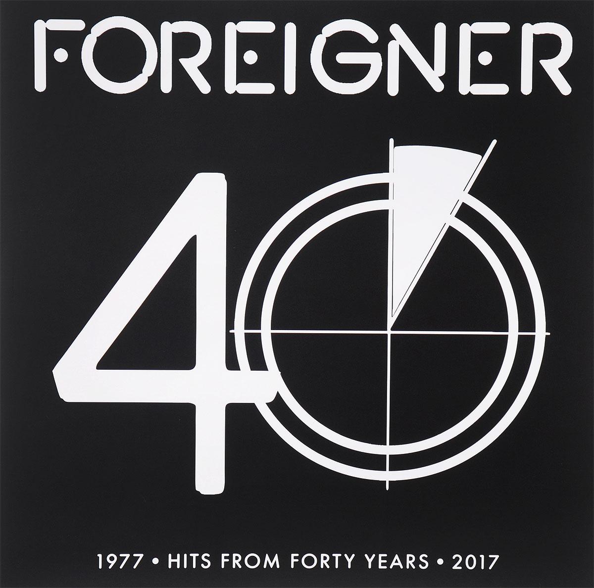 Foreigner Foreigner. 40 (2 LP) foreigner – 40 2 cd