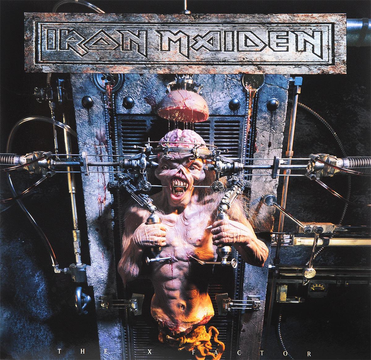 Iron Maiden Iron Maiden. The X Factor (2 LP) виниловая пластинка iron maiden the x factor