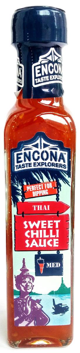 Encona Сладкий Чили соус, 142 мл259702Соус имеет слабоострый сладко-пряный вкус.