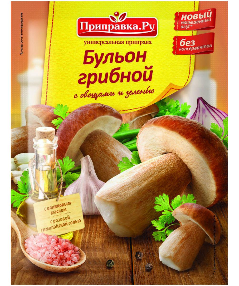 Приправка.Ру Бульон грибной с овощами и зеленью приправа универсальная, 75 г140073Приправа содержит натуральную минеральную гималайскую соль и оливковое масло.