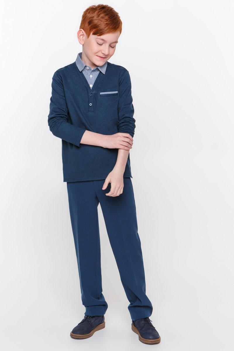 Джемпер для мальчика Overmoon by Acoola Silen, цвет: темно-синий. 21100100001_600. Размер 122 infinity by acoola roberto р 122 128 белая