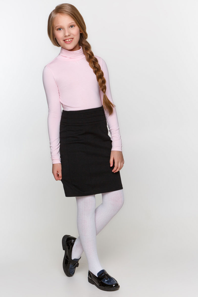 Водолазка для девочки Overmoon by Acoola Ava, цвет: светло-розовый. 21200100001_3400. Размер 164 лонгслив overmoon by acoola overmoon by acoola ov003egsjs36