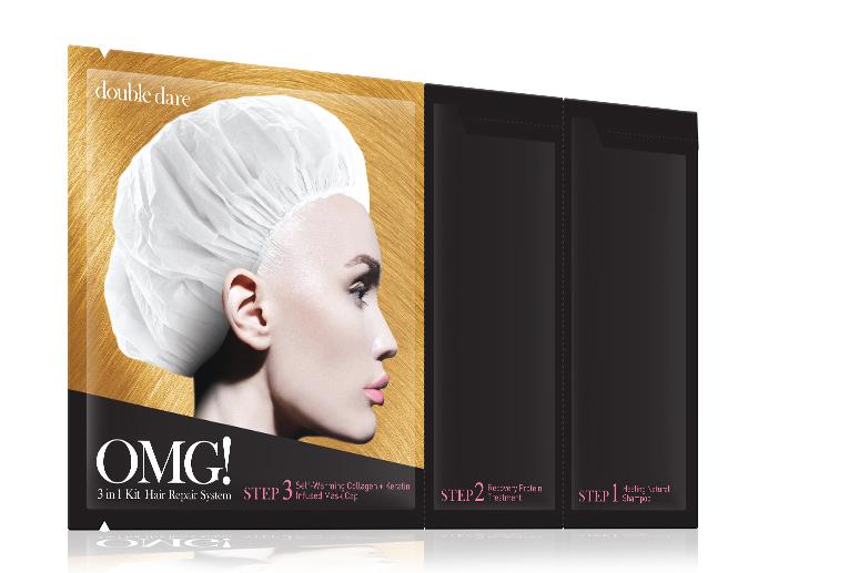 Double Dare OMG! Маска трехкомпонентная для восстановления волос 3IN1 KIT HAIR REPAIR SYSTEM double dare omg маска трехкомпонентная для восстановления волос 3in1 kit hair repair system