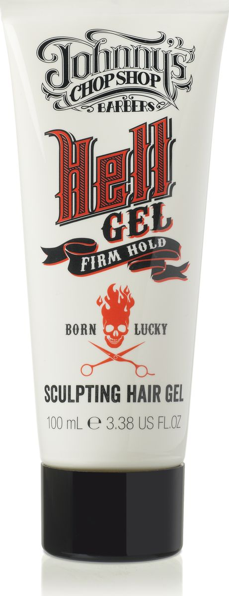 Johnnys Chop Shop Hell Gel Sculpting Hair Gel гель для укладки волос, 100 мл124312Классическое средство, усиленное инновационными компонентами, помогает придать волосам нужную форму и обеспечить длительную фиксацию. Позволяет придавать волосам необходимую форму и длительную фиксацию. При расчесывании создаёт более мягкую укладку. Придаёт волосам лоск и блеск, не даёт им завиваться, влагоустойчивый. Подходит для всех типов волос. Содержит алоэ вера и провитамин В5, которые обеспечивают длительное увлажнение, улучшают блеск и сияние волос, предотвращая их повреждение. Без парабенов.
