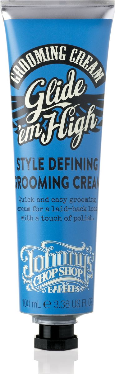 Johnny's Chop Shop Glide Em High Grooming Cream крем для укладки волос, 100 мл
