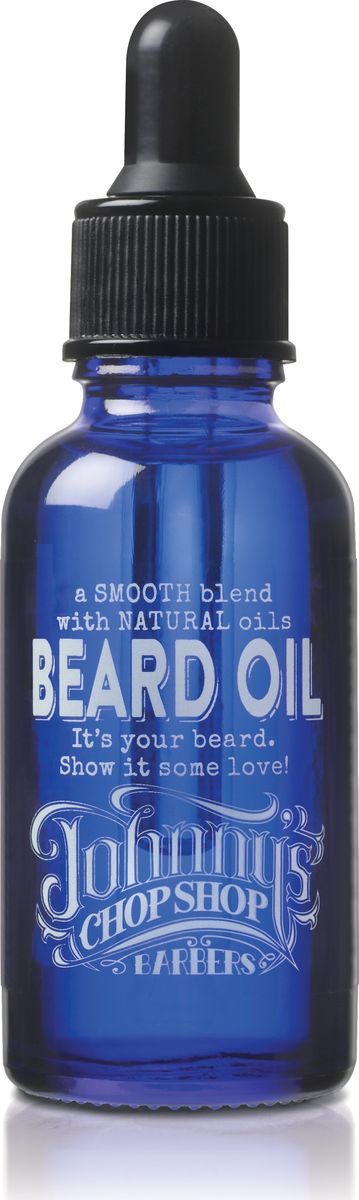 Johnny's Chop Shop Beard Oil Beard Maintenance Oil масло для бороды, 30 мл