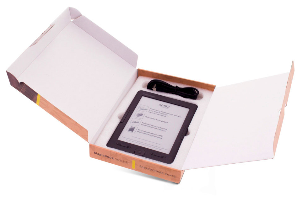 Gmini MagicBook S62LHD, Greyэлектронная книга Gmini