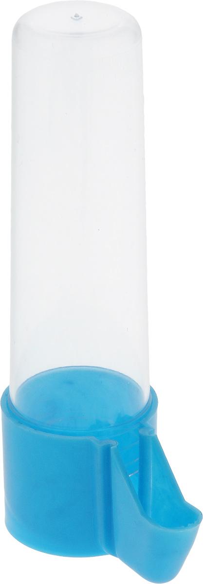 Поилка для птиц Каскад Бриллиант, с носиком, большая, цвет: голубой33300513Поилка для птиц Каскад Бриллиант понравится вашему питомцу. Изделие выполнено из высококачественного пластика.Воду невозможно пролить, благодаря надежной конструкции.Высота поилки: 13,5 см.