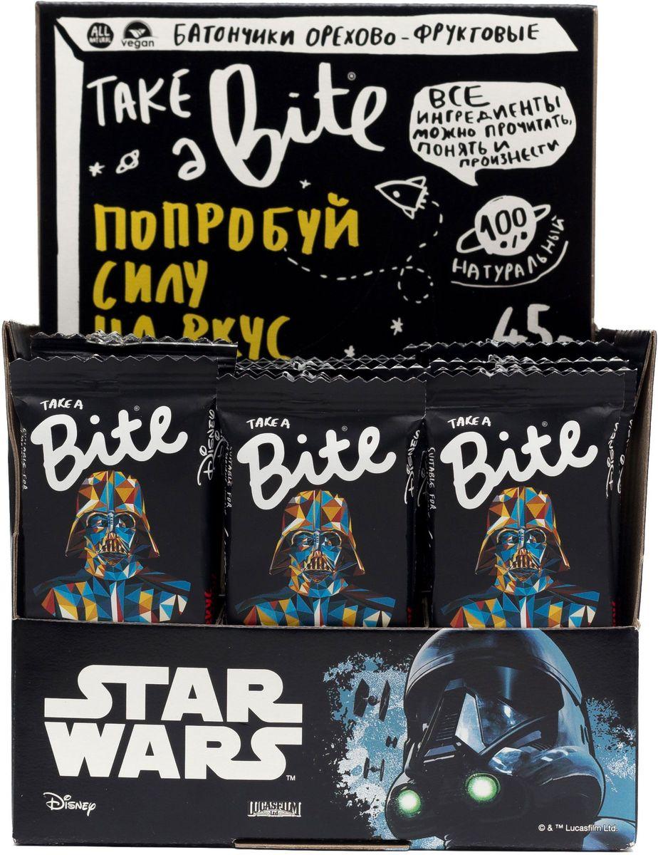 Take A Bite Звездные войны батончик фруктово-ореховый Клюква-Тыквенные семечки Иммунитет, 20 шт по 45 г холст 50x50 printio фредди меркьюри
