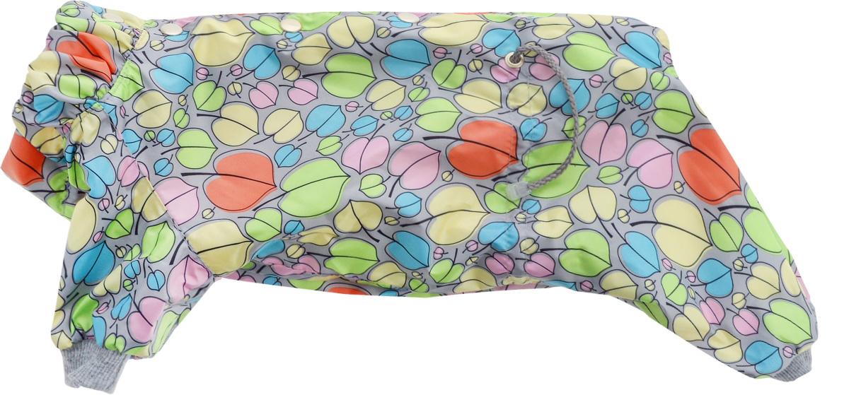 Комбинезон для собак Yoriki Очарование, для девочки. Размер L452-23Теплый комбинезон для собак Yoriki Очарование отлично защитит вашего питомца в холодную погоду от осадков и ветра. Комбинезон изготовлен из водоотталкивающего полиэстера. Подкладка из искусственного меха сохранит тепло и обеспечит уют во время зимних прогулок.Модель оформлена металлическими кнопками и дополнена утягивающими шнурками в поясе.Благодаря такому комбинезону вашему питомцу будет комфортно наслаждаться прогулкой.