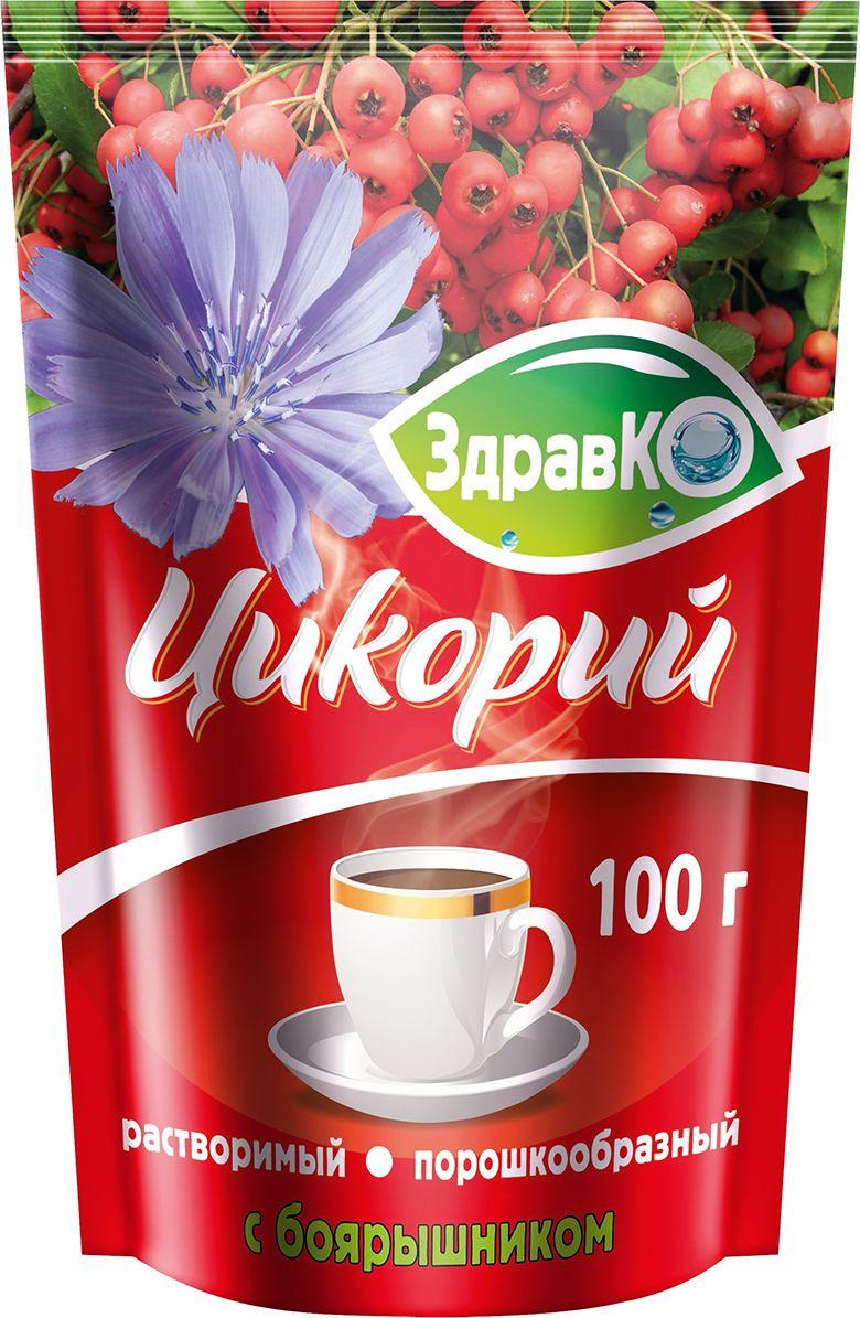ЗдравКо цикорий растворимый c боярышником, 100 г