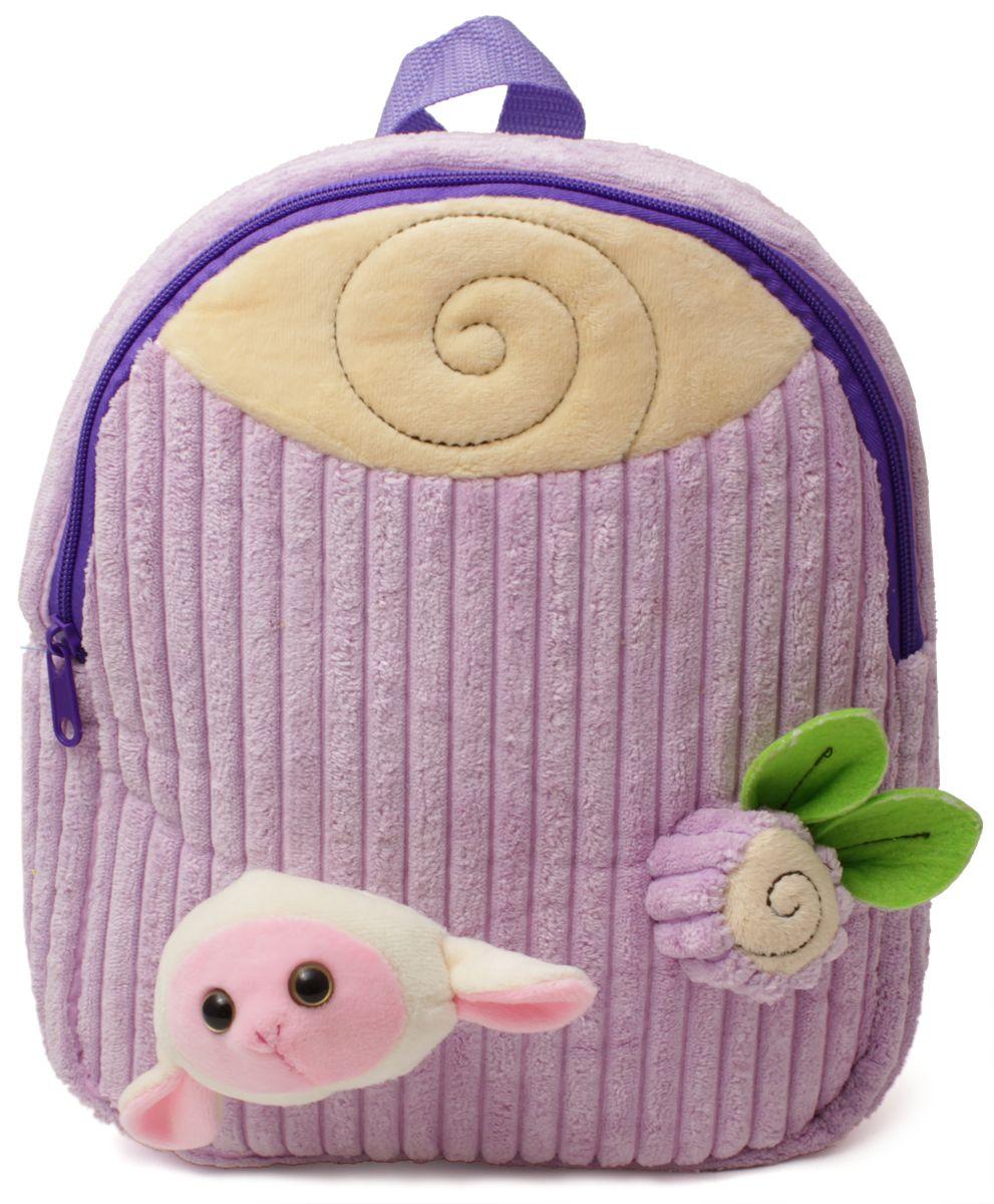 Феникс+ Рюкзак дошкольный Барашек43454Дошкольный рюкзак Феникс+ имеет одно большое отделение на застежке-молнии.Рюкзак оснащен ручкой для переноски в руках и лямками с регулируемой длиной. Лицевая сторона рюкзака украшена объемными игрушками-аппликациями.Такой рюкзак идеально подойдет для хранения важных вещей, которые так необходимы детям на детской площадке, во время прогулки или на пикнике.