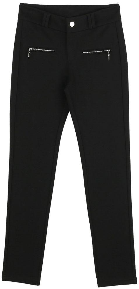 Брюки для девочки Vitacci, цвет: черный. 2171217-03. Размер 1462171217-03Классические брюки стрейч Vitacci выполнены из вискозы и нейлона с добавлением эластана. Модель застегивается на гульфик с молнией и пуговицу. Пояс дополнен шлевками для ремня. Спереди расположены два врезных кармана на молнии.