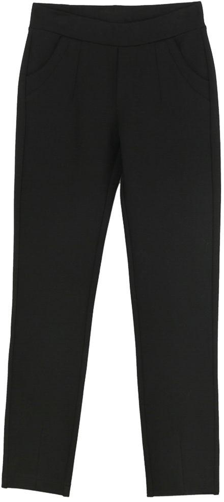 Брюки для девочки Vitacci, цвет: черный. 2171221-03. Размер 1342171221-03Классические брюки стрейч Vitacci выполнены из вискозы и нейлона с добавлением эластана. Пояс снабжен широкой эластичной резинкой, которая обеспечивает комфортную посадку. Спереди расположены два втачных кармана.