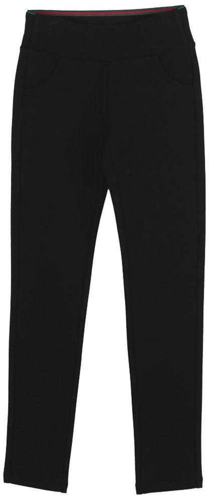 Брюки для девочки Vitacci, цвет: черный. 2171225-03. Размер 1402171225-03Классические брюки стрейч Vitacci выполнены из вискозы и нейлона с добавлением эластана. Пояс снабжен широкой эластичной резинкой, которая обеспечивает комфортную посадку. Спереди расположены два втачных кармана.