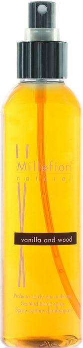 Духи-спрей для дома Millefiori Milano Natural Ваниль и дерево / Vanilla & Wood, 150 мл43848Духи-спрей Millefiori Milano Natural наполнят ваш дом неповторимым ароматом. Ароматизатор произведен из натуральных компонентов и является образцом качественного и безопасного продукта для дома.Духи-спрей - это простое и долговременное решение, как наполнить дом или офис приятным запахом.Описание ароматической композиции: сладкие ноты ванили, усиленные нотами леса и сандалового дерева. Базовые ноты: Горький апельсин, Бергамот, Масло Парагвайского апельсина, Жасмин. Средние ноты: Ягоды ванили из Мадагаскара, Семена моркови. Верхние ноты: Марокканское кедровое дерево, Черное дерево, Сандаловое дерево, Жженый солод, Флорентийский ирис. Товар сертифицирован.