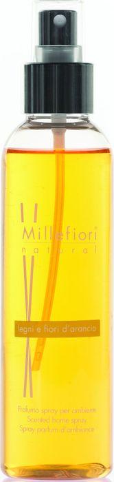 Духи-спрей для дома Millefiori Milano Natural Лес и полевые цветы / Legni E Fiori D'Arancio, 150 мл духи спрей для дома millefiori milano natural жасмин иланг иланг jasmine ylang 150 мл